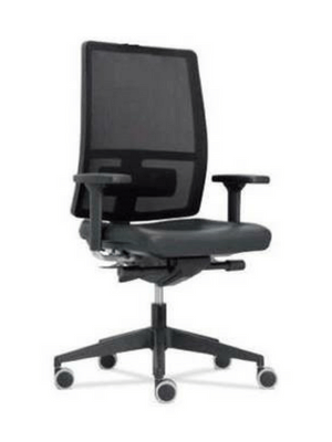 Ergonomic telescopic office chair